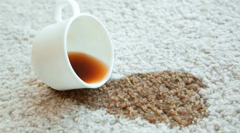 Removing Coffee Stains from Carpet